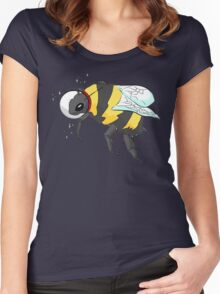 Cosmic Bee in Color Women's Fitted Scoop T-Shirt