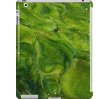 Green Algae Abstact iPad Case/Skin