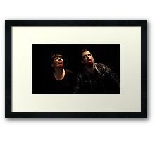Trapped Zombies Framed Print