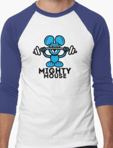 Mighty Mouse Men's Baseball ¾ T-Shirt