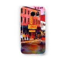 RUE ST. LAURENT MONTREAL Samsung Galaxy Case/Skin