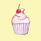 Cupcake with a Cherry on Top by Avé Rivera