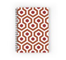 Overlook Carpet (transparent pattern) Spiral Notebook