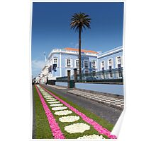 Palace in Azores Poster