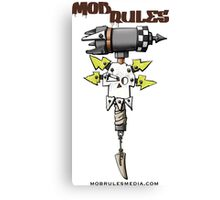 Mob Rules 4th Edition hammer and skull Canvas Print