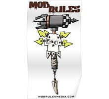 Mob Rules 4th Edition hammer and skull Poster