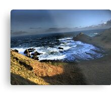 Antrim Shadows~Giant's Causeway Metal Print