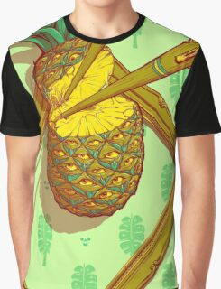 Psychedelic Pineapple Graphic T-Shirt