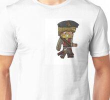 Cartoon Minecraft Pirate Unisex T-Shirt
