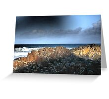 The Giant's Causeway, Northern Ireland~March Shadows Greeting Card