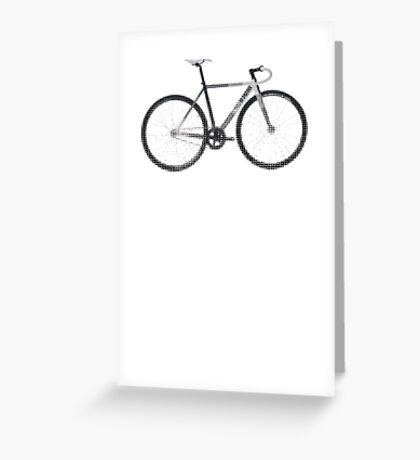 fixed gear mash Greeting Card