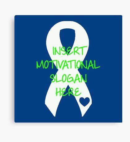 Motivational Slogan Canvas Print
