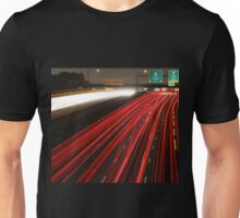 Long Exposure Highway  Unisex T-Shirt