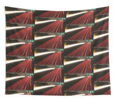 Long Exposure Highway  Wall Tapestry