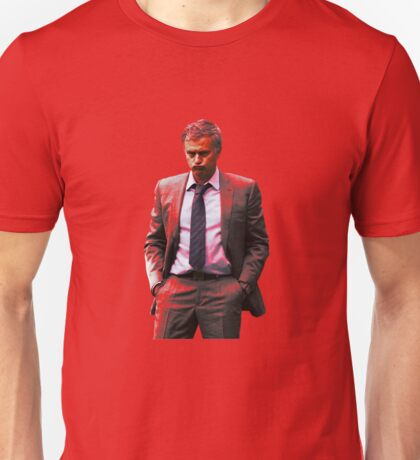 Jose Mourinho is a red #mufc (T-shirt, Phone Case & more) Unisex T-Shirt
