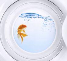 (Very) Clean Goldfish Sticker
