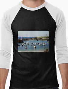 Wollongong Harbour Lighthouses Men's Baseball ¾ T-Shirt