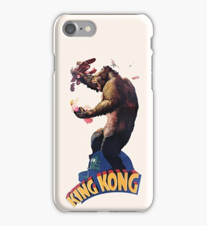 King Kong Retro iPhone Case/Skin