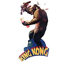 King Kong Retro Photographic Print