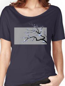 Sakura Blue v1 Women's Relaxed Fit T-Shirt