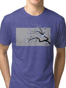Sakura Blue v1 Tri-blend T-Shirt