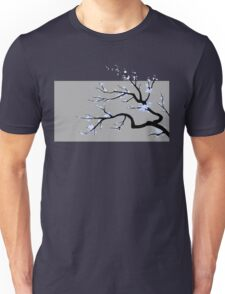 Sakura Blue v1 Unisex T-Shirt