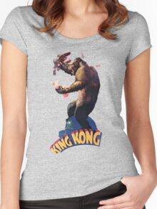 King Kong Retro Women's Fitted Scoop T-Shirt
