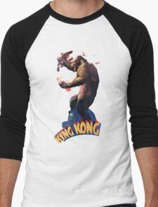 King Kong Retro Men's Baseball ¾ T-Shirt