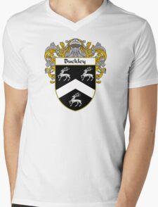 Buckley Coat of Arms/Family Crest Mens V-Neck T-Shirt