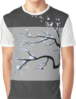 Sakura Blue v1 Graphic T-Shirt