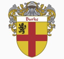 Burke Coat of Arms/Family Crest Kids Tee