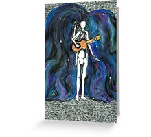 The Muse Represented  Greeting Card