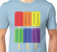 Rainbow Pops Unisex T-Shirt