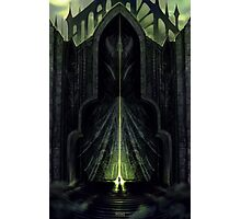 The Black City Gates Photographic Print