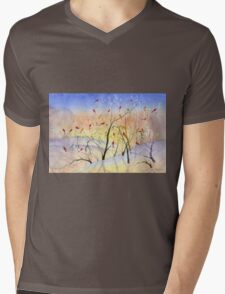Winter Song Mens V-Neck T-Shirt