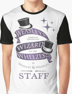 Weasleys' Wizard Wheezes Staff Shirt Graphic T-Shirt