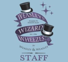 Weasleys' Wizard Wheezes Staff Shirt Baby Tee