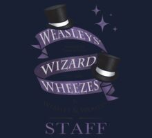 Weasleys' Wizard Wheezes Staff Shirt Kids Tee