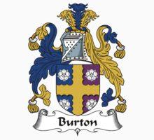 Burton Coat of Arms / Burton Family Crest Kids Tee