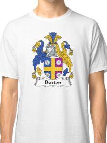 Burton Coat of Arms / Burton Family Crest Classic T-Shirt