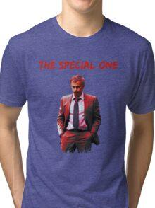 Jose Mourinho The Special one (T-shirt, Phone Case & more) Tri-blend T-Shirt
