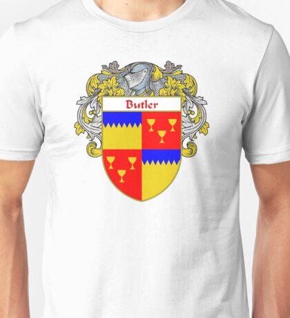 Butler Coat of Arms/Family Crest Unisex T-Shirt