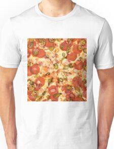 Jalapeño and Pepperoni Pizza Unisex T-Shirt