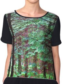 If You Go Down To The Woods Today.... Women's Chiffon Top