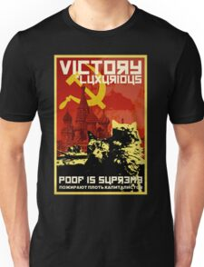 CCCP POSTER: COMMUNIST CAT COMRADE POOF Unisex T-Shirt