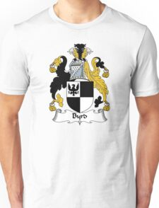 Byrd Coat of Arms / Byrd Family Crest Unisex T-Shirt