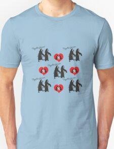 Together forever penguin pattern T-Shirt