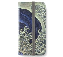 Femenine wave iPhone Wallet/Case/Skin