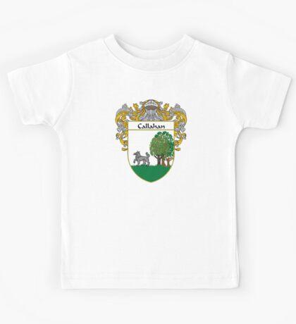 Callahan Coat of Arms/Family Crest Kids Tee