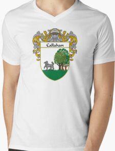 Callahan Coat of Arms/Family Crest Mens V-Neck T-Shirt